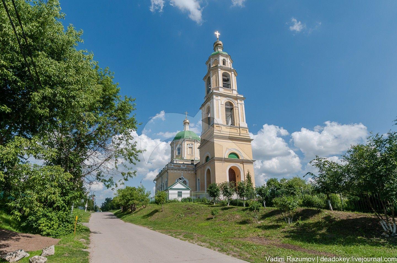 Никольская церковь, 1731-1738гг., арх.Шедель И.Г., 1837-1841 гг., 1845 г., арх. Тюрин Е.Д.
