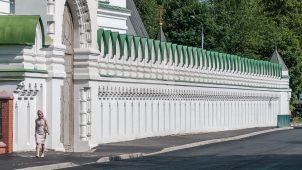 Ограда, 1908 г., комплекс зданий Николо-Перервинского монастыря