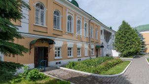 Жилой корпус южный, комплекс зданий Николо-Перервинского монастыря