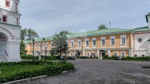 Жилой корпус северный, комплекс зданий Николо-Перервинского монастыря