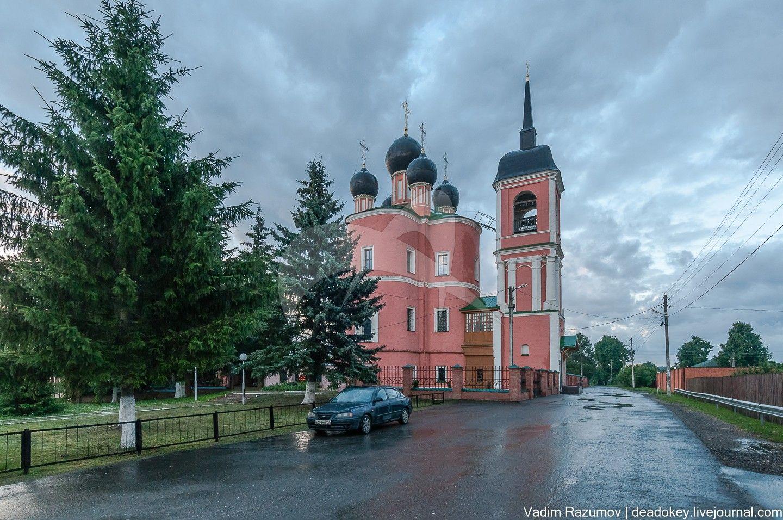 Тихвинская (Вознесенская) церковь, 1733, 1788 гг., арх. Н.А. Алексеев