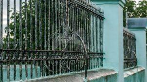 Ограда домика, 1680 г.