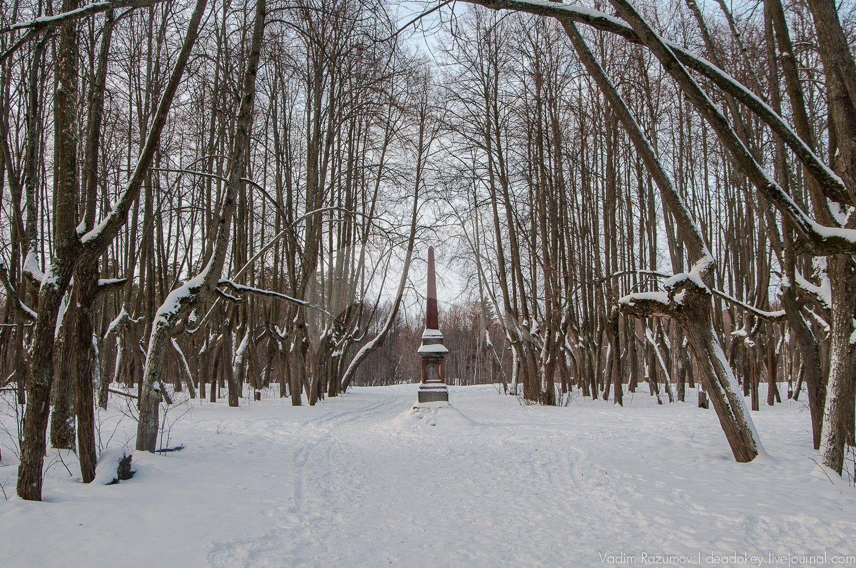 Парк, усадьба Чернышевых, ХVIII — ХIХ вв.