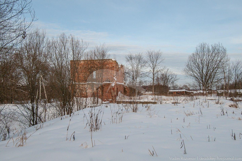 Скотный двор, усадьба Чернышевых, ХVIII — ХIХ вв.