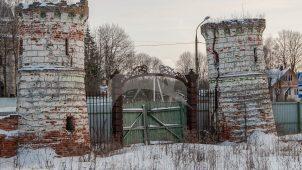 Въездная башня, усадьба Чернышевых, ХVIII — ХIХ вв.