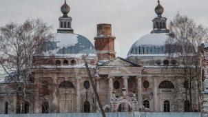 Ограда со Святыми воротами и калитками, конец XIX в., усадьба Чернышевых «Ярополец»
