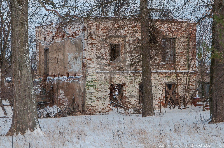 Конный двор, усадьба Чернышевых, ХVIII — ХIХ вв.