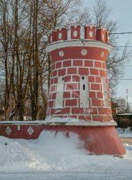 Стены и башни, усадьба Гончаровых, 1770 г.