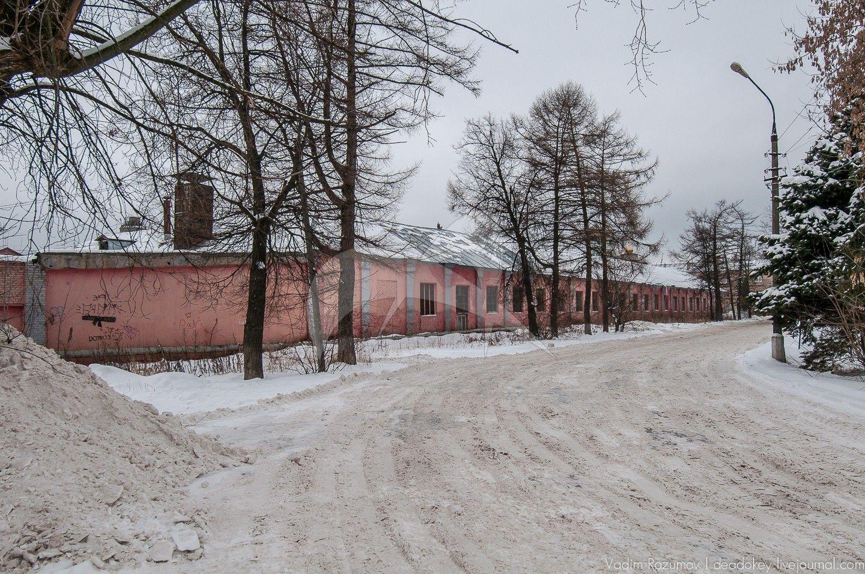 Баня-прачечная, комплекс зданий старых корпусов Купавинской тонкосуконной фабрики, где с 1894 по 1917 годы проходили революционные выступления рабочих