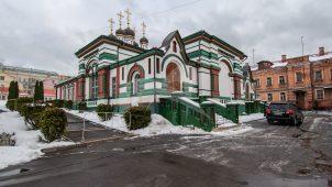Церковь Иоанна Златоуста, 1677 г., ансамбль Рождественского монастыря