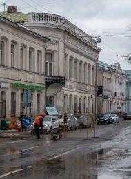 Флигель жилой, 1787-1793 гг., 1852 г., городская усадьба А.П. Карамышевой — доходное владение К.Е. Ценкер