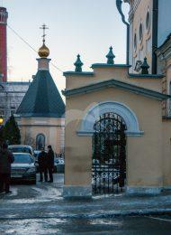 Трапезная и колокольня, начало XIX в., церковь Николы в Звонарях, арх. К.И. Бланк