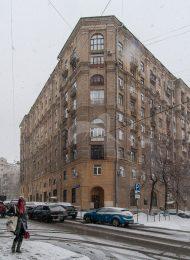 Дом жилищного кооператива «Педагог Московской консерватории», 1953-1956 гг., арх. И.Л. Маркузе