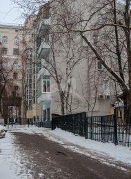Здание, где находятся квартира, в которой жила М.Т. Семенова