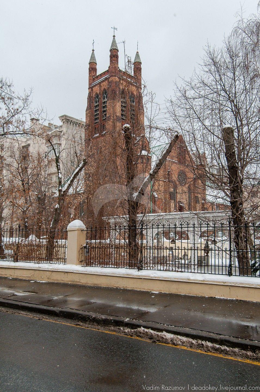 Церковь Святого Андрея, 1882-1887 гг., 1895 г. арх. Н. Фриман, Б.В. Фрейденберг