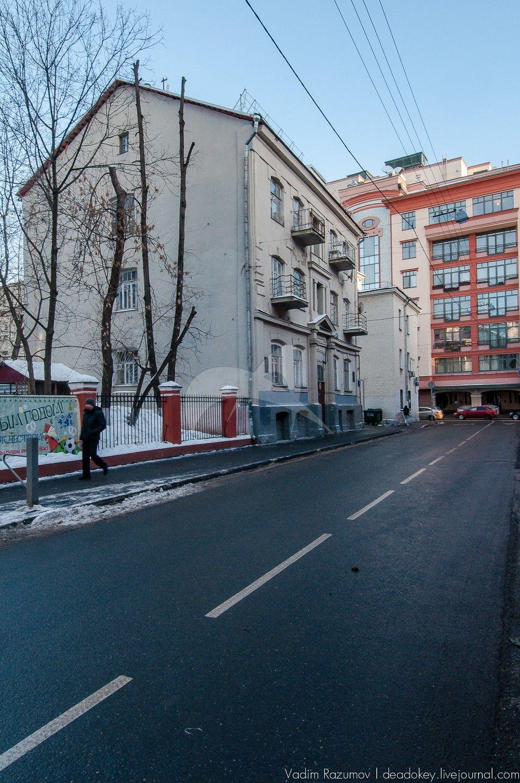 Дом (архитектора С.М. Гончарова), в котором в конце XIX — начале XX вв. жили и работали художники Н.С. Гончарова и М.Ф. Ларионов