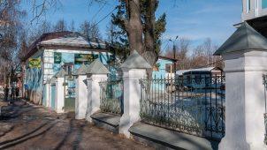 Ограда, церковь Вознесения Господня