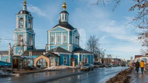 Церковь Апостолов Петра и Павла, 1820 г.