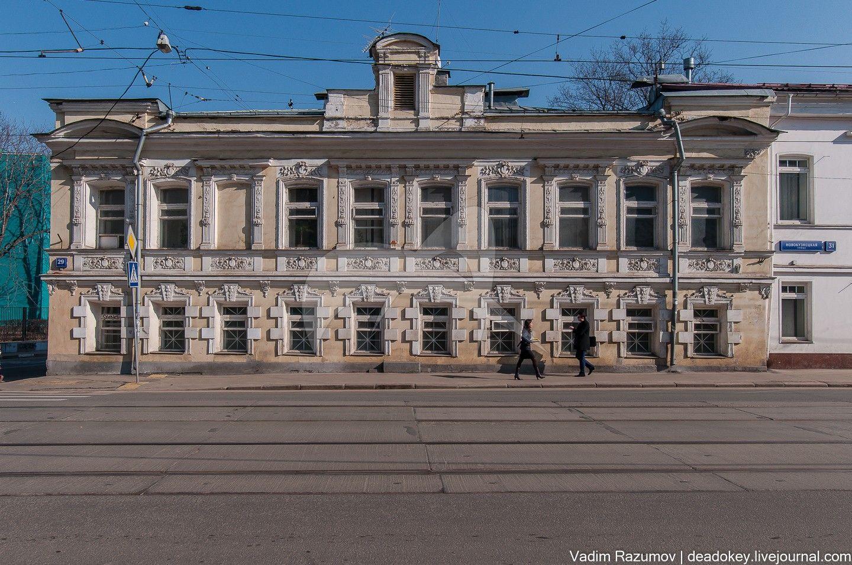 Жилой дом Е.Д. Свешниковой, XIX в., 1913 г., арх. С.Ф. Воскресенский