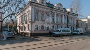 Главный дом, XVIII в. (?), начало XIX в., 1830-е гг., 1867 г., городская усадьба Толоконниковых
