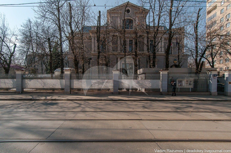 Главный дом, 1912 г., военный инж. И.И. Рерберг, городская усадьба Н.В. Урусовой