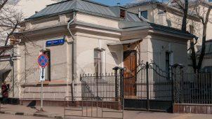 Северный флигель, 1899 г., арх. А.П. Вакарин, городская усадьба А.В. Целибеевой — М.Д. Карповой