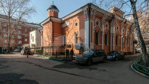 Здание мусульманской мечети