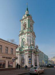 Колокольня, 1758 г., церковь Ивана Предтечи под Бором