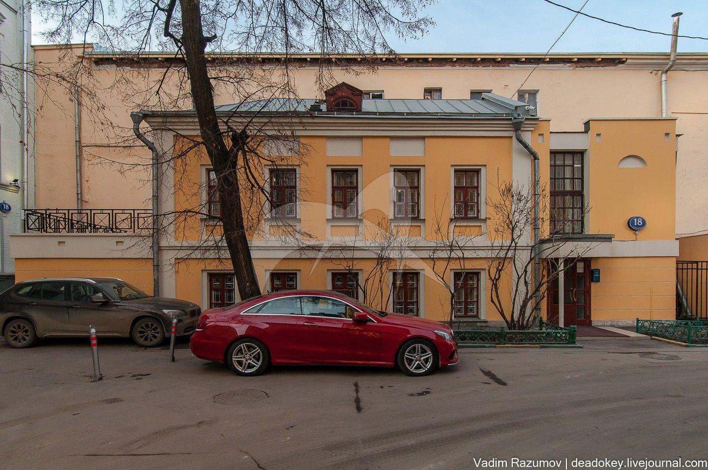 Флигель усадьбы М.П. Глазунова, 1817-1834, 1997 гг.