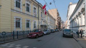 Главный дом, 1898-1901 гг., арх. К.К. Гиппиус, городская усадьба Н.И. Казакова (с 1950-х гг. – посольство Канады)