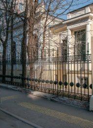 Ограда с калиткой и воротами, ансамбль городской усадьбы XIX — начало XX вв.