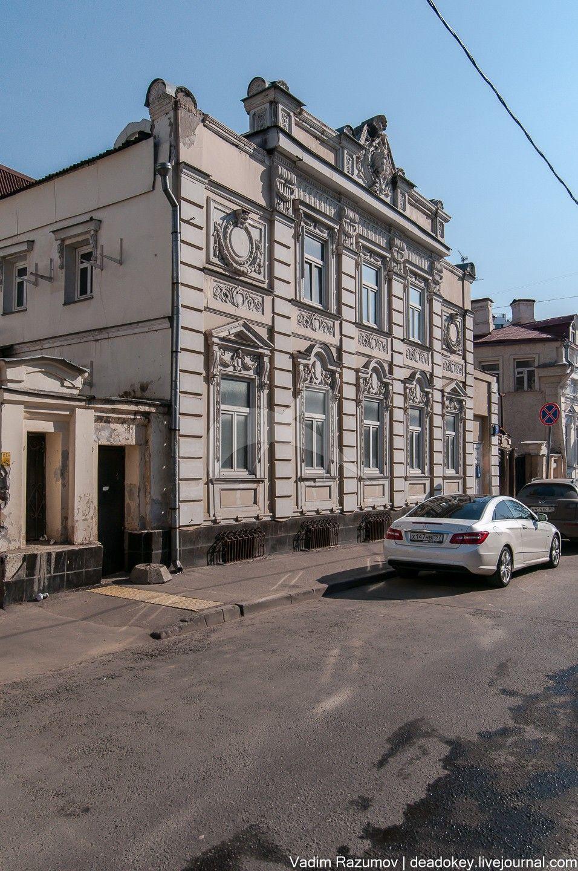Главный дом, 1820, 1881 гг., арх.-худ. К.И. Андреев, городская усадьба