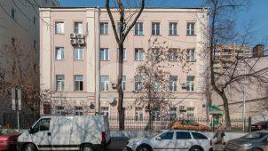 Жилой дом, 1896 г., арх. Н.И. Якунин, 1933 гг., в котором в квартире № 2 в 1930-1932 гг. жил и работал писатель Н.А. Островский