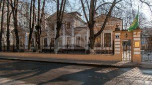 Главный жилой дом, начало XIX в., арх. А.Н. Соколов, усадьба Афросимовых