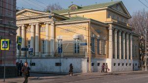 Главный дом, 1814 г., арх. А.Г. Григорьев. Интерьеры с росписями стен и плафонов, городская усадьба Хрущевых-Селезневых