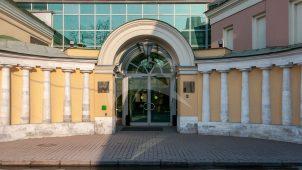Каретный сарай, городская усадьба Хрущевых-Селезневых. Служебные корпуса, конец XVIII — начало XIX вв.