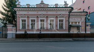 Главный дом, середина 1810-х гг., 1817-1845 гг., 1896 г., гражд. инж. Н.Г. Фадеев, городская усадьба, XIX в.