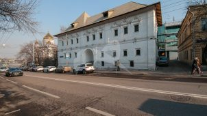 Палаты, 1685 г., («Белые палаты») — Главный дом усадьбы князя Б.И. Прозоровского