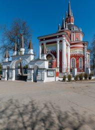 Церковь Никольская, в быв. усадьбе Никольское Царево, 1812 г., арх. И.В. Еготов