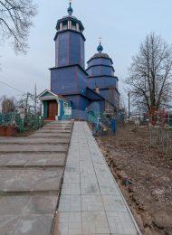 Сретенская церковь (деревянная), конец XVIII в., XIX в.