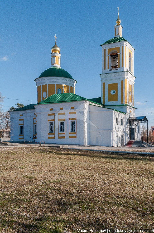 Церковь Иоанна Предтечи, усадьба Садки, ХVIII-ХIХ вв.