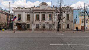 Главный дом, 1-я треть XIX в., 1870 г., 1890-е гг., арх. И.П. Залесский, городская усадьба Алексеевых