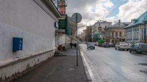 Бывший дом причта (воссоздание), XIX в., постройки комплекса церкви Алексея Митрополита, что за Яузой