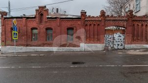 Подпорная стена, XIX в., городская усадьба Татарниковых, арх. Э.С. Юдицкий