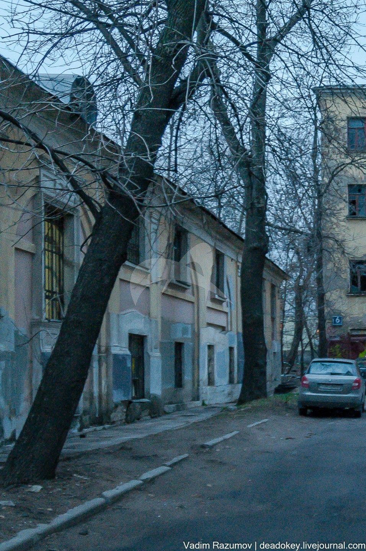 Северный флигель, 1790-е гг., 1807 г., 1850-е гг., городская усадьба П. Хрящева — Шелапутиных