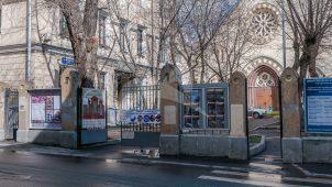Ограда с воротами, 1892 г., комплекс Лютеранской кирхи, 1905 г., арх. Коссов В.А.
