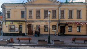 Главный дом, конец XVIII в. — 2-я половина XIX в., городская усадьба А.И. Алабова