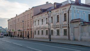 Усадьба генерал-фельдмаршала России П.А. Румянцева — Задунайского. В 1797-1820-х гг. здесь жил известный государственный деятель, основатель Румянцевского музея  Н.П. Румянцев