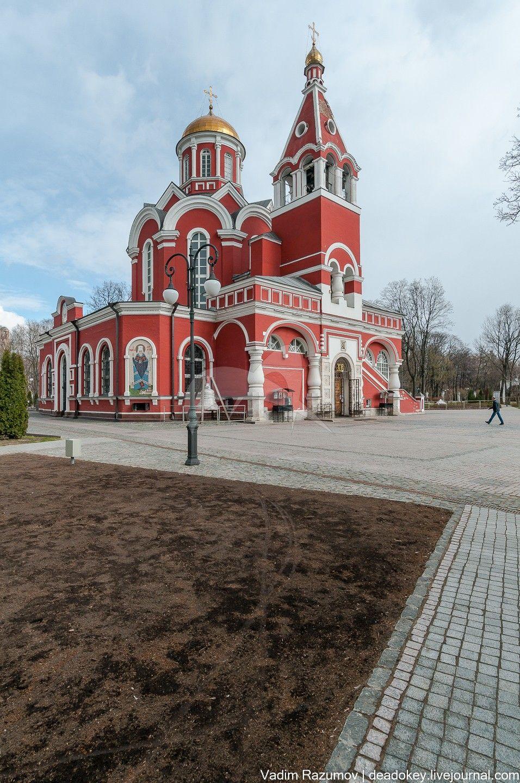 Церковь Благовещения в Петровском парке, 1843-1847 гг., арх. Рихтер Ф.Ф.