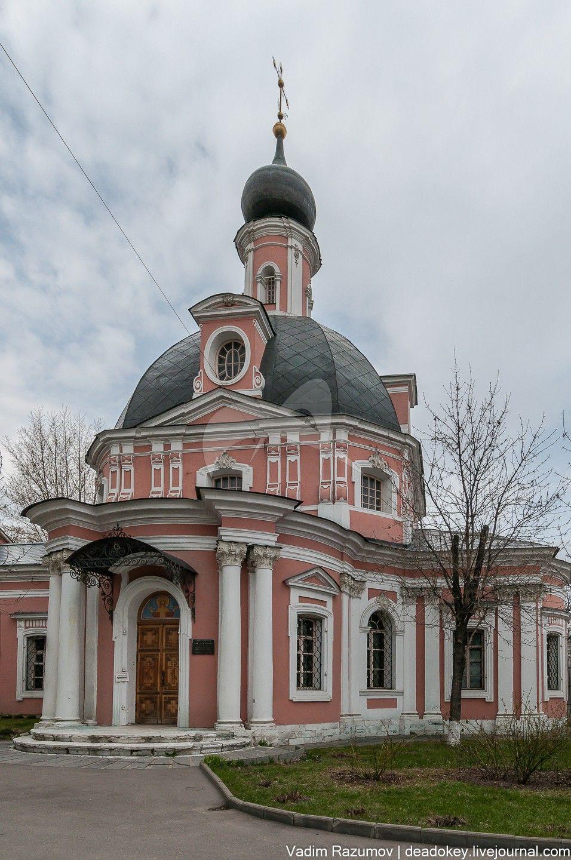 Церковь Екатерины с оградой и воротами, 1763-1767 гг., арх. К.И. Бланк